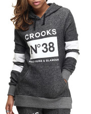 Crooks & Castles - Smoke Knit Hoodie Pullover