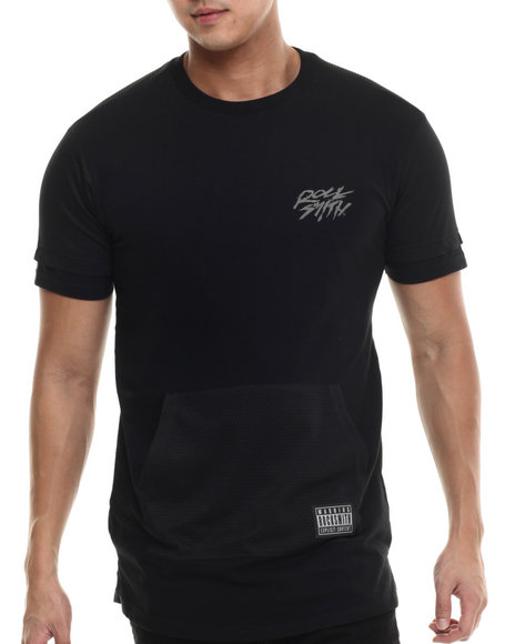Rocksmith - Men Black Shinobi Kangaroo Pocket T-Shirt