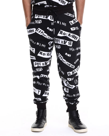 Rocksmith - Men Black Ransom Jogger