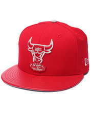 Men - Chicago Bulls All Red Everything 6x Champs Patch Custom 950 snapback hat