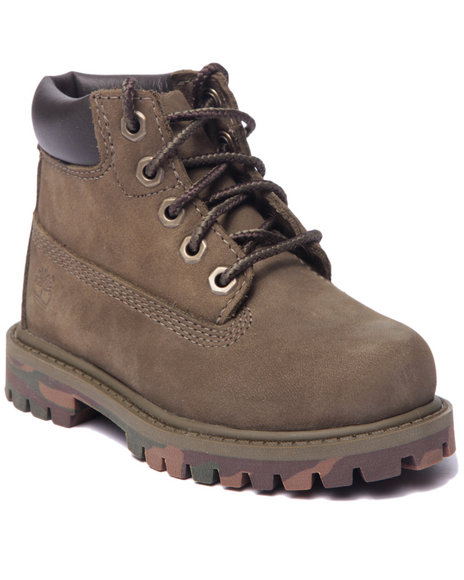 Timberland - Boys Olive 6