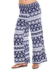 Fashion Lab - Night Sky Printed Plazzo Pant