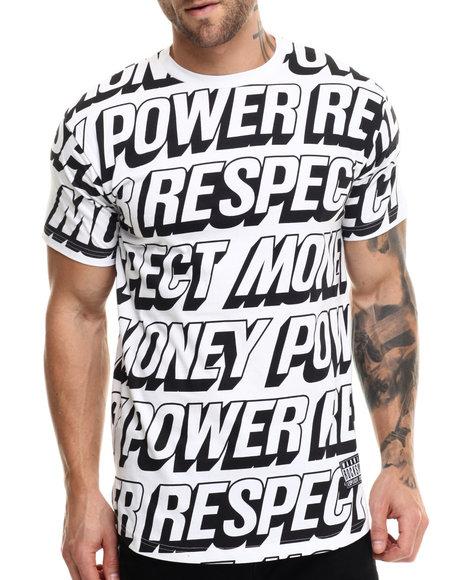 Rocksmith - Men White Respect T-Shirt