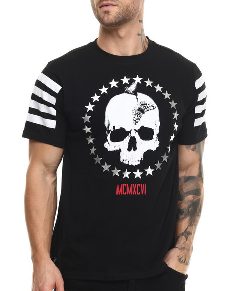 Ur-ID 215122 Enyce - Men Black Crewneck T-Shirt