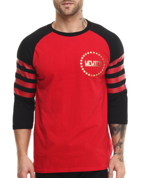 Enyce - Men Red Athen Raglan