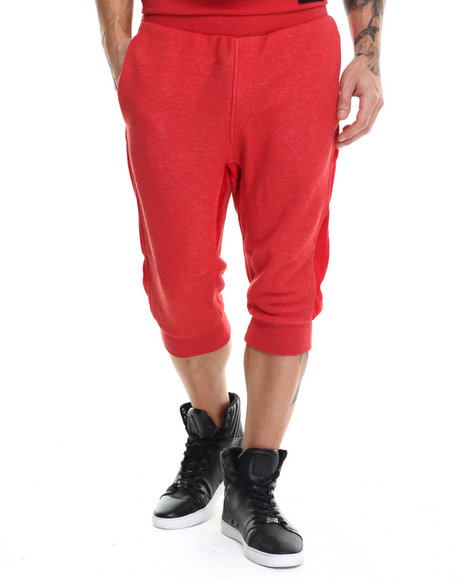 Rocawear - Men Red Jogger Shorts
