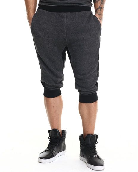 Rocawear Blak - Men Black Jogger Shorts
