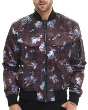 Outerwear - Twill Bomber Jacket