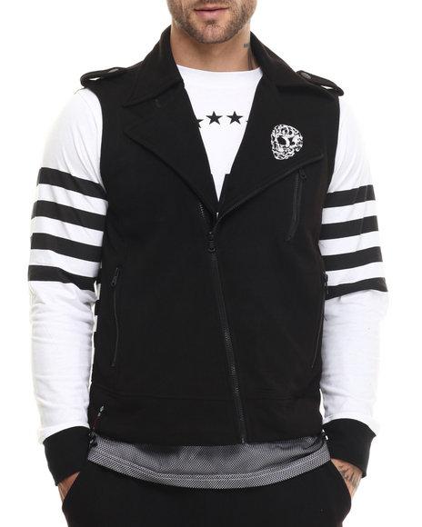 Ur-ID 215105 Enyce - Men Black Future Bikers Vest
