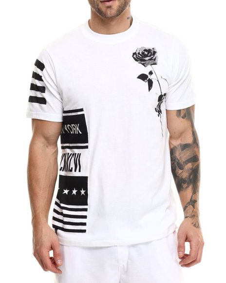 Enyce - Men White Skrillex T-Shirt