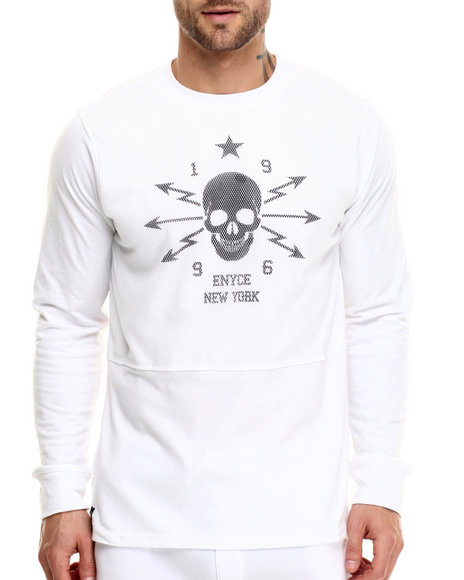 Enyce - Men White Fresh Prince Sweatshirt