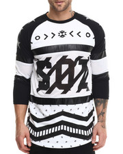 Buyers Picks - S Q Z Mesh Cut - Block 3 / 4 Sleeve Raglan