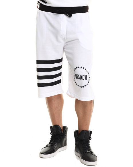 Enyce White Shorts