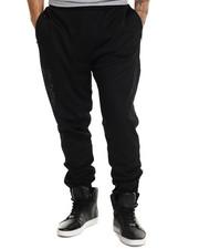 Jeans & Pants - Mesh Jogger Pants