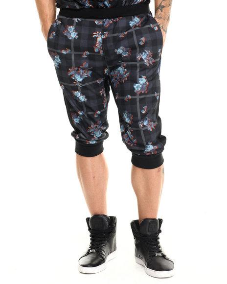 Rocawear Men Jogger Shorts Black X-Large