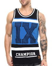 Men - I X Cut - Block Tank Top