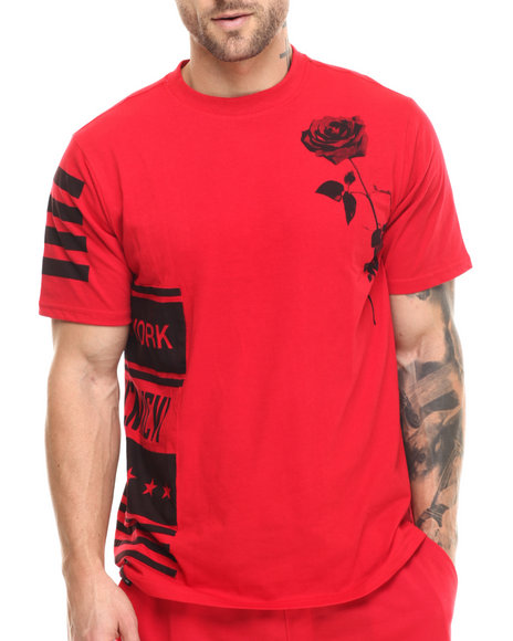 Enyce - Men Red Skrillex T-Shirt - $22.99