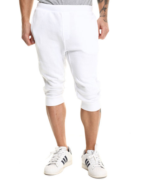Rocawear Blak - Men White Jogger Shorts