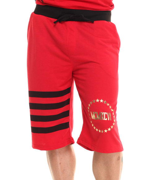 Enyce - Men Red Dafni Dazzle Shorts