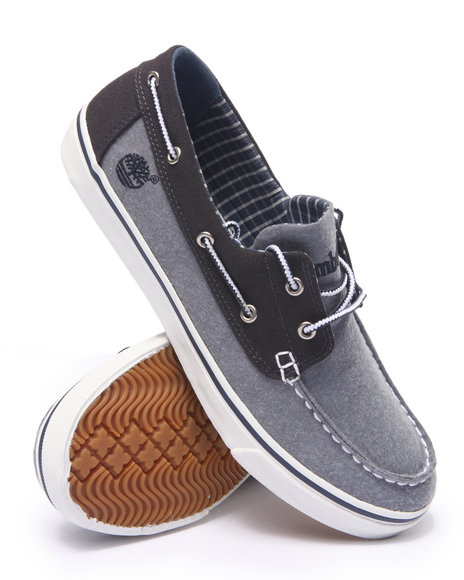 Timberland - Men Light Blue Earthkeepers Newmarket Boat Oxford Shoes
