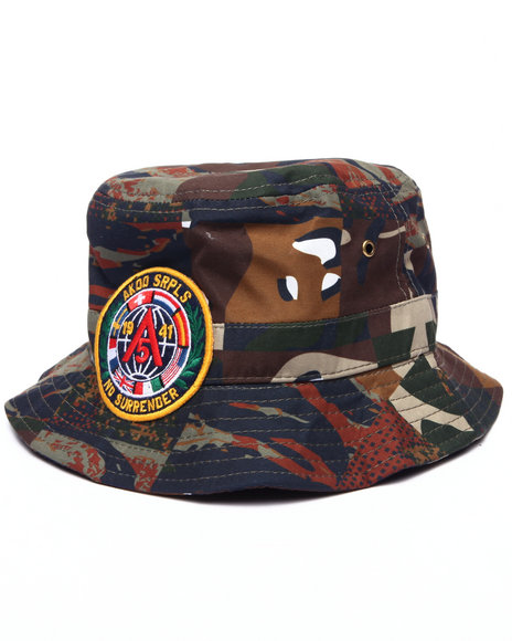Akoo Men 50 Cal Bucket Hat Camo Large/X-Large
