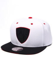 Hats - Brooklyn Nets V Snapback Hat (Undervisor Print Detail)
