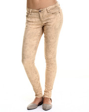 Women - Tie Dye Wash Denim Jean