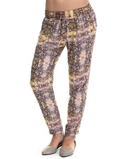 Bottoms - Snake Print Soft Pant