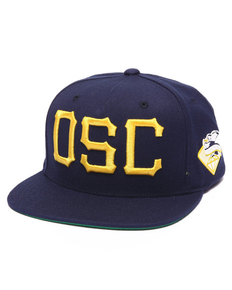 Diamond Supply Co Men D S C Snapback Cap Navy - $22.99