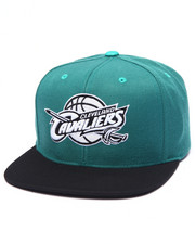 Hats - Cleveland Cavaliers Gem Green Edition Snapback hat
