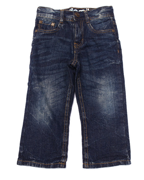 Akademiks - Boys Medium Wash Acid Wash Jeans (2T-4T) - $9.99