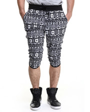 Men - Aztek Print drawstring Shorts