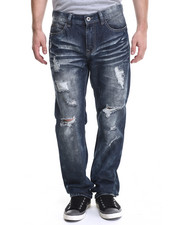 Regular - Dk Indigo wash denim Jeans