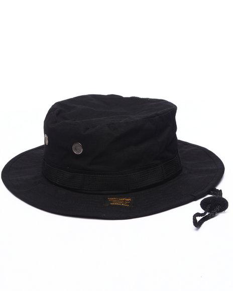 Grizzly Griptape Men Established Fishermans Hat Black