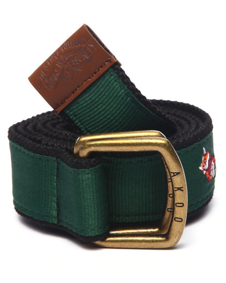 Akoo Men Collectors Belt Black
