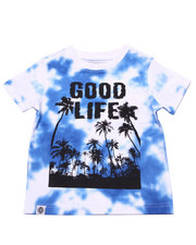 Tops - GOOD LIFE TIE DYE TEE (2T-4T)