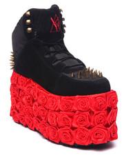 Y.R.U. - Qozmo Rose Platform Sneaker