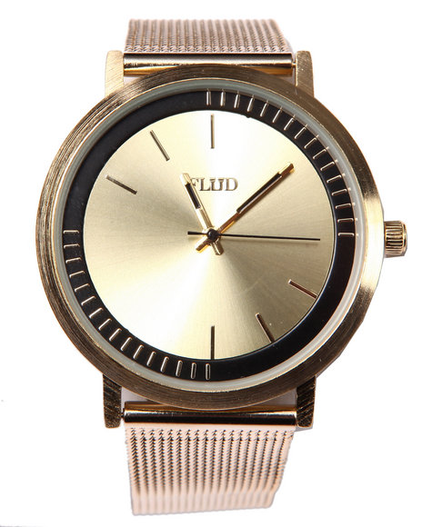 Flud Watches Men The Stunt Watch Gold