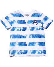 Sizes 4-7x - Kids - TIE DYE STRIPE TEE (4-7)