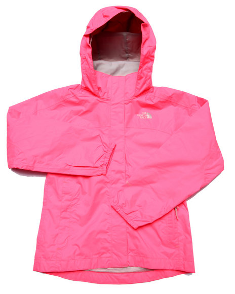 The North Face - Girls Pink Resolve Reflective Jacket (5-16)
