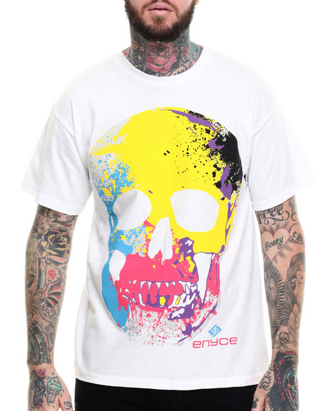 Enyce - Men White Hurst T-Shirt