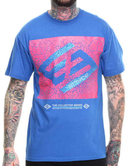 Enyce - Men Blue Sneaker Head T-Shirt - $9.99