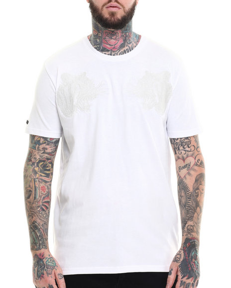 AKOO - Men White Dimension Knit Tee