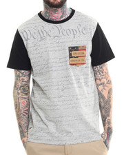 Men - Two Tone We The People Tee