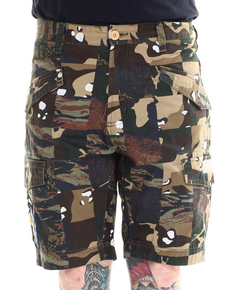 AKOO - Men Green Ranger Shorts