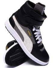 Women - Sky II Hi Blocks & Stripes Sneakers