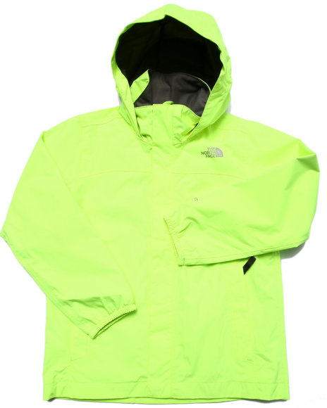 The North Face - Boys Yellow Resolve Reflective Jacket (5-20)