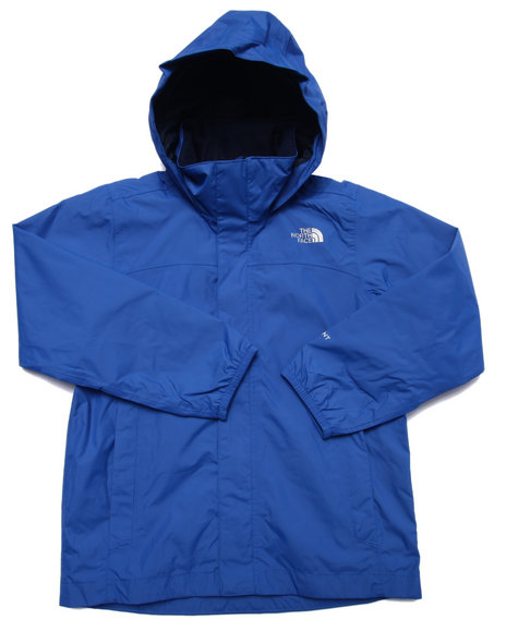 The North Face - Boys Blue Resolve Reflective Jacket (5-20)