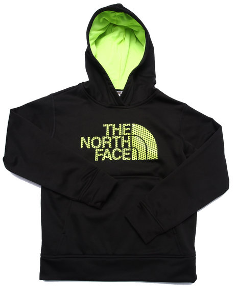 The North Face - Boys Black Surgent Logo Hoodie (5-20)