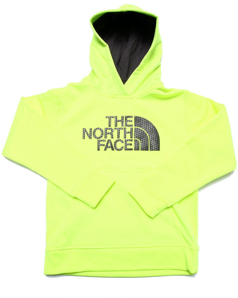 The North Face - Boys Yellow Surgent Logo Hoodie (5-20)